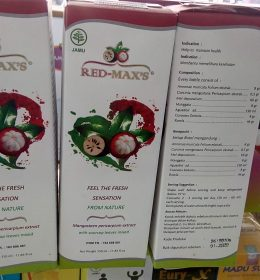 HERBAL JUS KULIT MANGGIS RED MAX'S