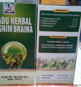 Madu Herbal Tasnim Braina