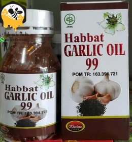 Habbat Garlic Oil 99 isi 200