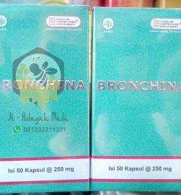 Jual Herbal BRONCHINA Herbamed