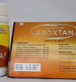 Jual Herbal ASOXTAN Herbamed