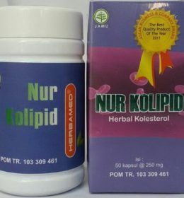 Jual Herbal NUR KOLIPID Herbamed